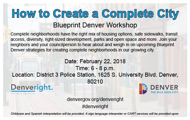 District 6 blueprint denver workshop flyer washington park east district 6 blueprint denver workshop flyer malvernweather Choice Image